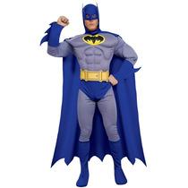 Batman Costume - Adultos Músculo Del Pecho Del Vestido De L