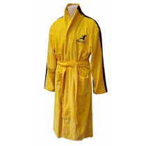 Bruce Lee Jeet Kune Do Yellow Cotton Bathrobe