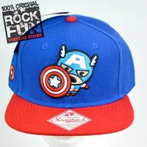Capitan America Marvel Kawaii Gorra Importada 100% Original