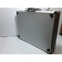 Portafolio De Aluminio Elegante,práctico, Distintivo, Ligero