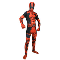 Deadpool Morphsuit - Adultos Xxlarge Marvel Fantasía Comic