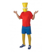 Bart Simpson Disfraces - Adultos Hombres Xlarge Classic Los