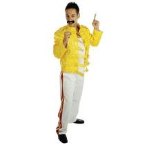 Freddie Mercury Traje - Mens Medium Reina Concierto De Rock