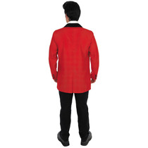 Teddy Vestuario Boy - Rojo Medio Mens 1950s Retro Rock N