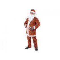 Juego De Santa - Deluxe Sombrero Barba Cinturón Chaqueta Y