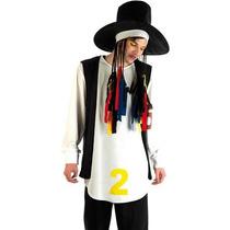 Boy George Traje - Mens 80s Pop Star Vestido De Lujo -