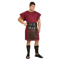 Romano De Disfraces - Spartan Borgoña Túnica Traje Adulto