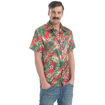 Disfraz Hawaiano - Camisa Hawai'ian Xl - Hombres Hula Tr
