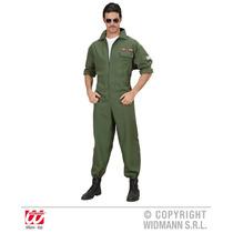 Disfraz Piloto - Adultos Hombres Xlarge Del Avión De Combat