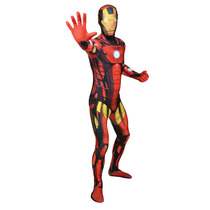 Ironman Disfraces - Adultos Xlarge Morphsuit Marvel Comic