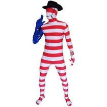 Estados Unidos Morphsuit - L Bandera De Usa Traje Bodysuit D