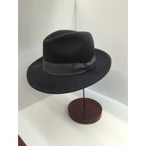 Sombrero Fedora Fieltro Lana Bigalli