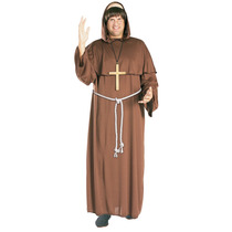 Sacerdote Disfraces - Adultos Friar Tuck Monje Vestido De Lu
