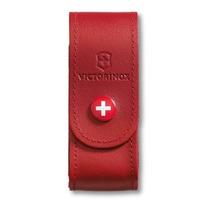 Funda De Piel Roja Para Navaja Victorinox Mod. 1.6 Y 1.7