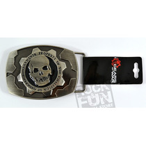 Gears Of War Hebilla Importada 100% Original 2