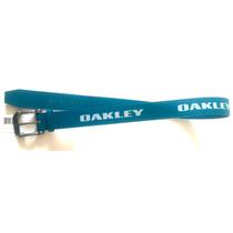 Cinturon Oakley Station Belt Blue Talla S 16-30 Original Ch