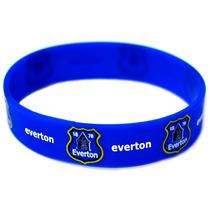 Everton Muñequera - Blue Silicone Rubber Football Club