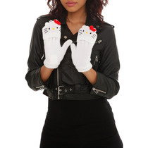 Hot Topic Guantes Hello Kitty Convertible Gloves