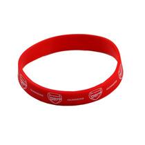 Muñequera - Arsenal Fc Red Silicone Rubber Football Club