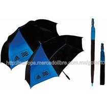 Adidas Set De 2 Sombrillas Sport Paraguas Deportivos Lluvia