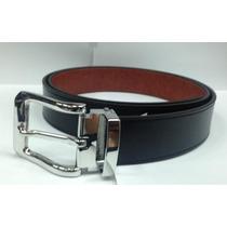 Cinturon Mauricio Serrano Doble Vista Negro-miel