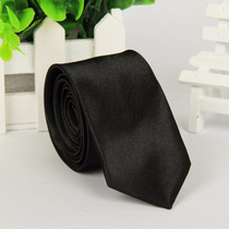 Corbata Negra Slim - 5cm Ancho