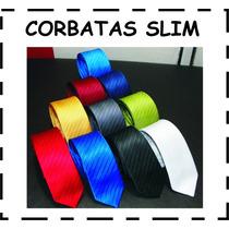 Corbatas Slim Al Mejor Precio Y Excelente Calidad Y Colores