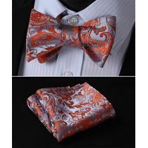 Corbata De Moño Y Pañuelo ( Envió Gratis)