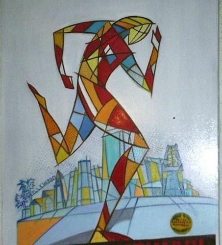 Cuadros figuras geometricas imagui for Cuadros con formas geometricas