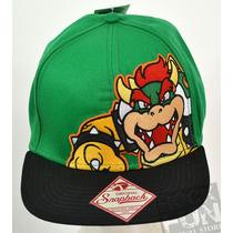 Koopa Nintendo Super Mario Bros Gorra Importada 100% Orig