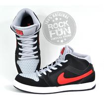 Nike Mogan Mid 3 Tenis Piel 100% Originales