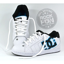 Dc Shoes Tenis Net M 100% Originales