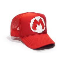 Gorras De Pixeles Retro Mario Bros Ghostbusters Tron Pacman