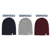 Envio Beanie Aeropostale Azul, Gris O Tinto Gorra Caps Logo