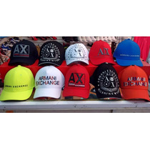 Gorras Armani Exchange 2015--100% Originales ..fashions-moda