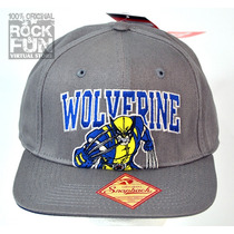 Wolverine Marvel Comics Gorra Importada 100% Original
