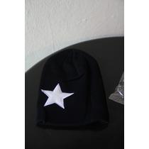 Gorro Beanie Unisex Cap Star Gris O Negra Estilo Estrella