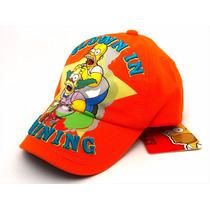 Gorra Homero Simpson Krusty Nueva Original Bordada