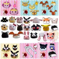 Gorros Personajes Anime, Animalitos, Cosplay