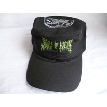 Cradle Of Filth Gorra Bordada Tipo Militar
