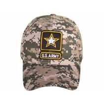 Gorra Us Army Camuflaje Ajustable
