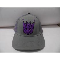 Gorras Transformers Decepticons 100% Originales Cerradas