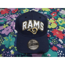Gorra Azul New Era Nfl St. Louis Rams Team 100% Original