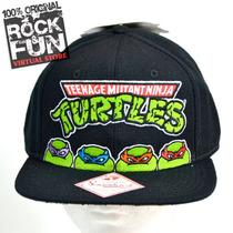 Tortugas Ninja Tmnt Gorra Flatbill Importada 100% Original