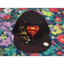 Gorra Superman Six Flags 100% Original Ajustable Nueva