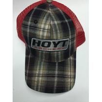Gorra Hoyt Classic Negro Rojo