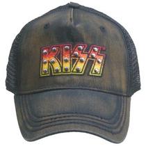 Kiss Gorra Trucker Importada 100% Original
