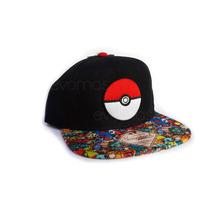 Gorra Snapback Oficial De Pokebola Pokemon Original Nintendo