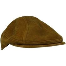 Gorra Cuero Apenado Stetson Tela Hombres Ivy Hat Brown, Lar