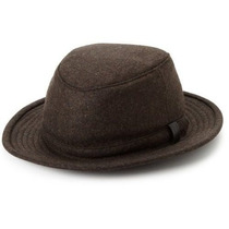 Gorra Tilley Tech-lana Sombrero De Invierno Castaño / Negro